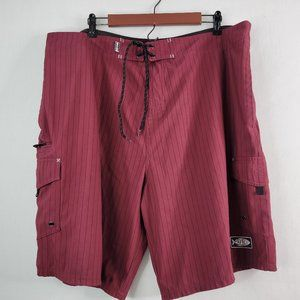 AFTCO Bluewater Striped Fishing Shorts 40